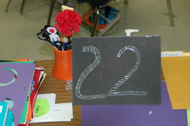 The Twenty Second Day of School