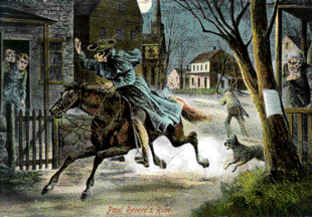 Pual Revere's Ride