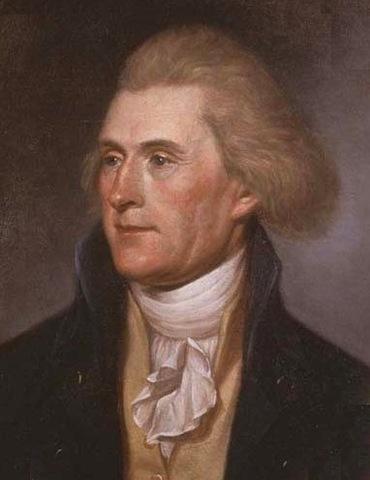 Thomas Jefferson invents his wheel cipher