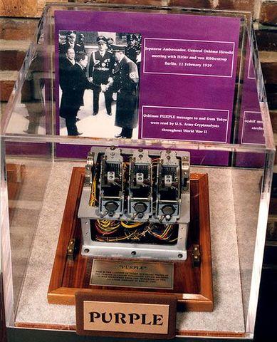 Japanese Purple machine was invented