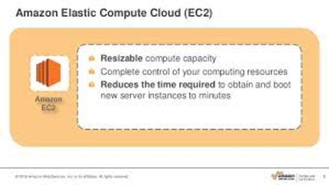 Amazon launched its Elastic Compute cloud (EC2)