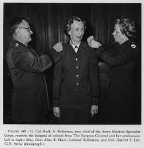 Ruth A. Robinson becomes AOTA president