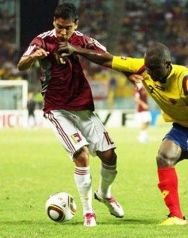 Colombia venció a Venezuela