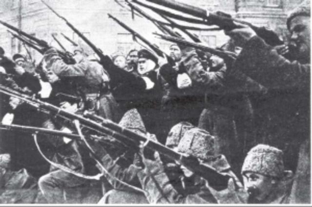 Insurreccion bolchevique en Petrogrado