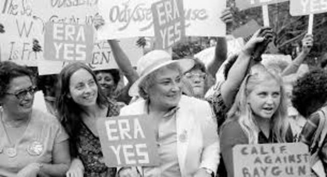 Equal Rights Amendment Signed