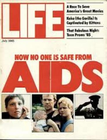 First recognized case of AIDS in US