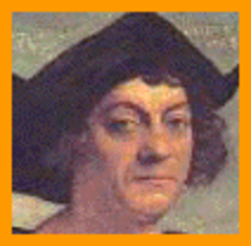Christopher Columbus reaches Caribbean Islands