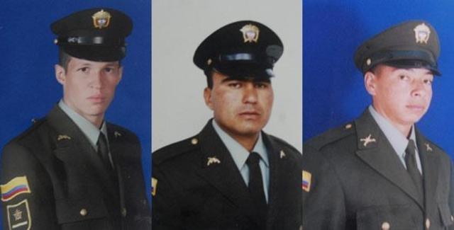 Identifican a policías muertos por la guerrilla en zona rural de Tibú (Norte de Santander)
