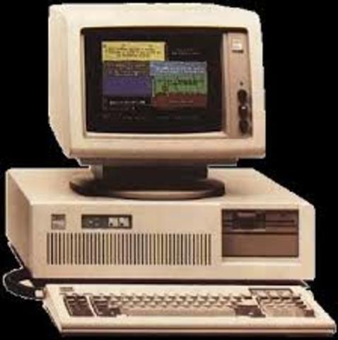 IBM PC 5150 CON TECLADO O MONITOR MONOCROMO VERDE