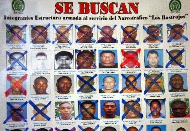 Narcotraficantes detenidos 'Phanor Arizabaleta' y 'Germán Satizabal' tenían nexo con 'Los Rastrojos'