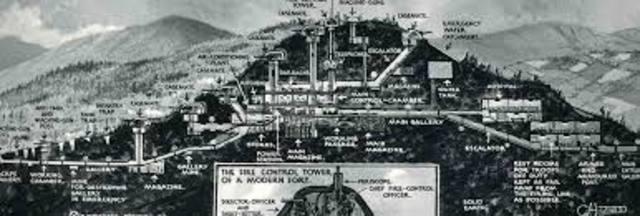 lineas de fortificaciones (linea Maginot)