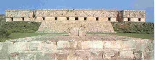 Palacio de Uxmal. Ingeniería maya.