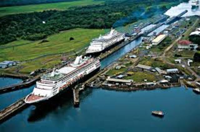 Inicia Costrucción Canal de Panamá