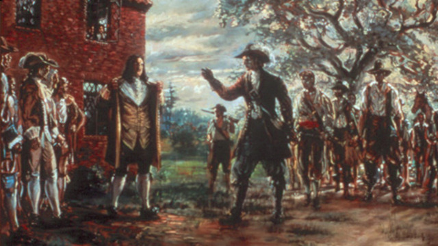 Nathaniel Bacon's Rebellion