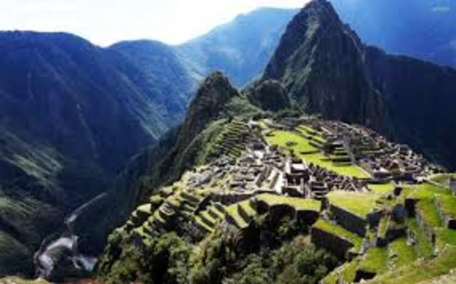 La ciudadela de Machu Picchu. Ingenieria Inca