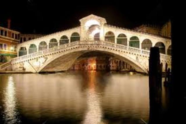 Diseño de puentes en Venecia