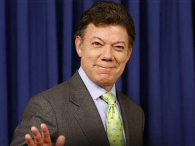 En Nueva York, Santos afirmó que baja de 'Jojoy' es como haber capturado a Osama ben Laden