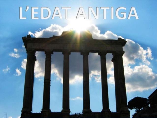 Edat antiga