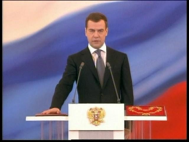 Presidente de Rusia Dimitri Medvedev destituyó al alcalde de Moscú