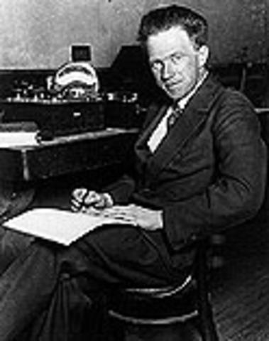 Werner Heisenberg publishes theory of quantum mechanics