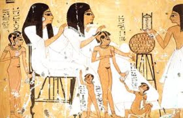 EL NIÑO EN EGIPTO