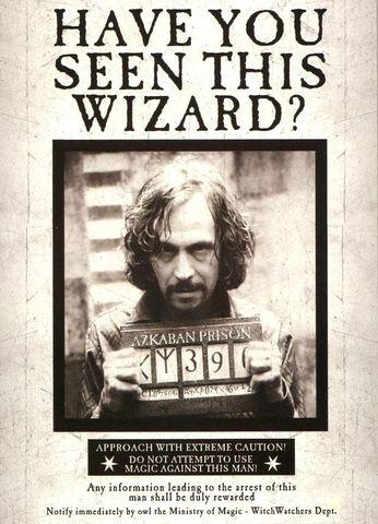 Sirius Black Escapes