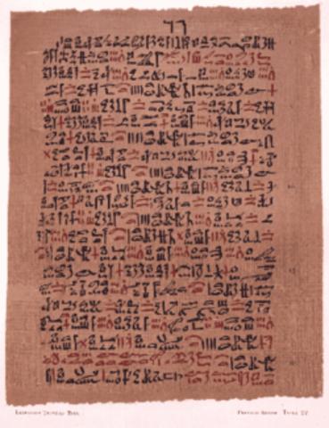 Apareix l'escriptura