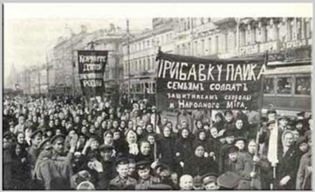 Russian Revolution starts