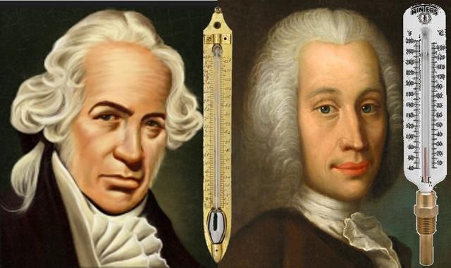 Fahrenheit-Celsius Scales (1724&1742)