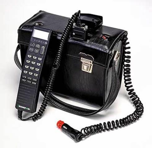 Sin teclado y si ratón  (Nokia's Mobira Senator)