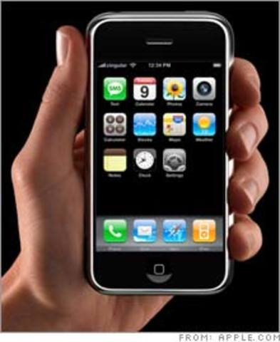 Pantalla táctil en celular