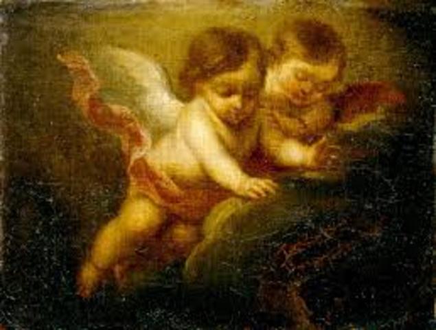 Infante como un ángel Dream Babies (Siglo XVII):