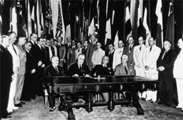 Las Naciones Unidas  1945
