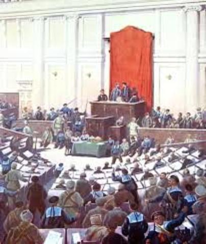 Bolsheviks vs Russian Constituent Assembly