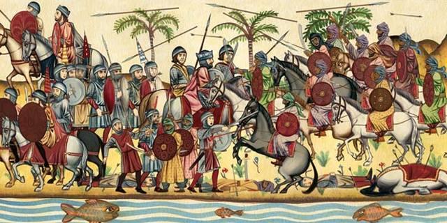 Guerra civil entre Arrianos y Catolicos en el reino vicigodo