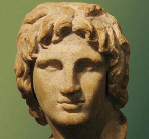 Alejandro Magno empieza sus conquistas