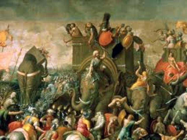 Roma destruye a cartago.