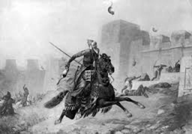 Aurigas conquista Egipto