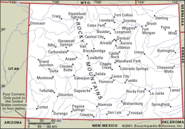 Colorado Becomes a State