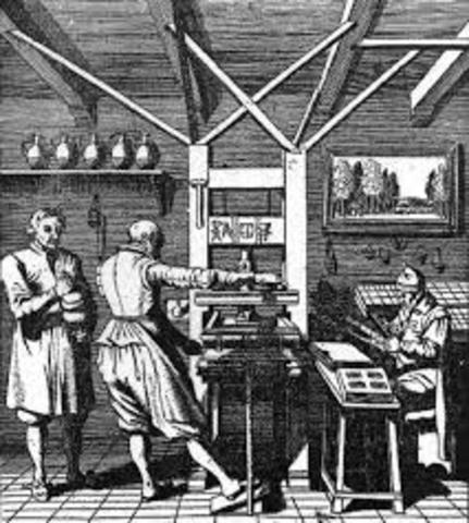 La evolución de la imprenta