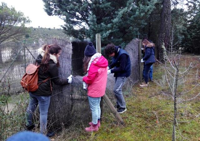 Ayuda Comunitaria a la Reserva Natural de