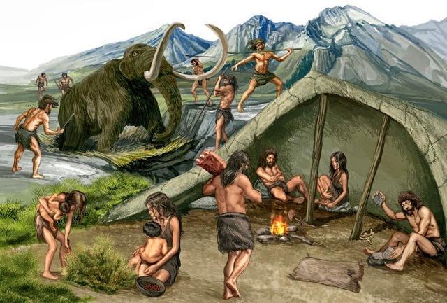 Edad de piedra y caza