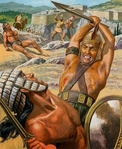 Invasión de la península de Grecia