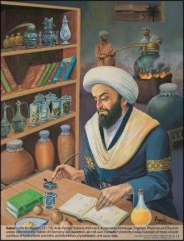 Alquimista Jabir Hayyan