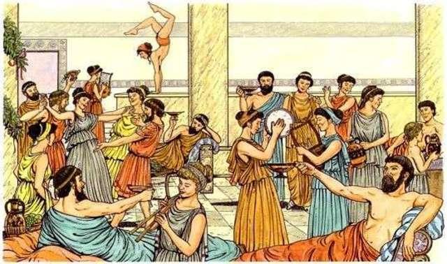 Pueblo griego