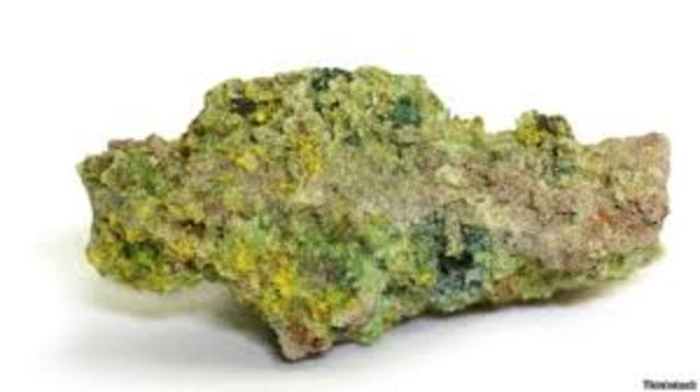 Dos trozos de uranio.