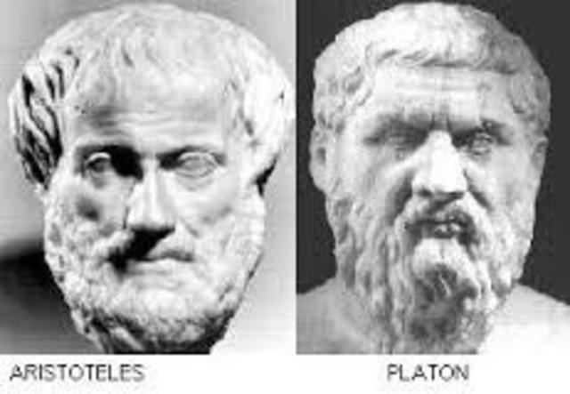 Platòn - Aristóteles 400 a.C