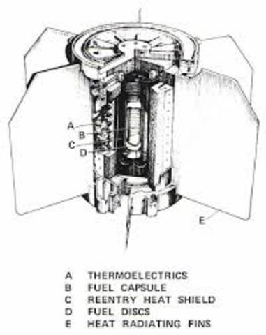 Pila atómica de  uranio.
