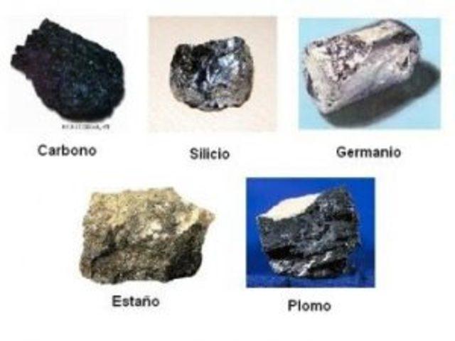 boro, aluminio y silicio en la tabla