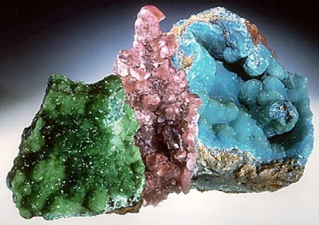 nuevo elemento en el mineral de cinc